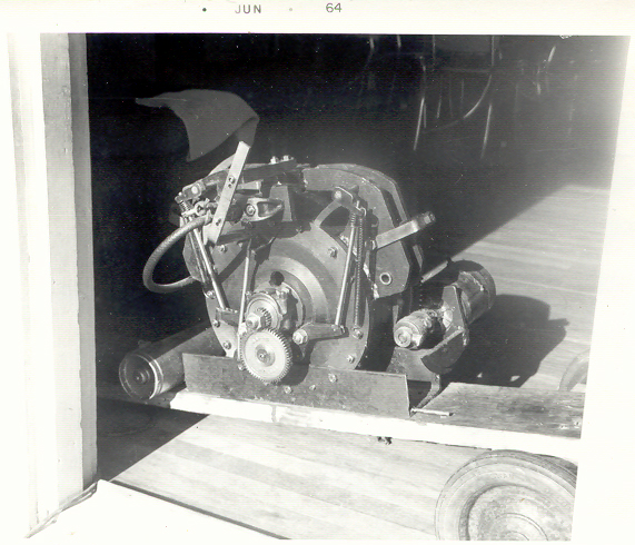 Trotter Rotary Engine - 1964